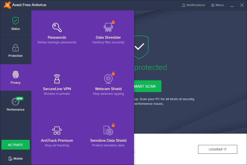 Avast Pro Antivirus key